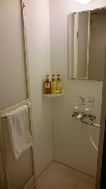 ドーミーイン稚内 シャワールーム