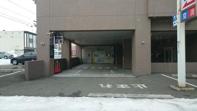 ドーミーイン稚内 駐車場